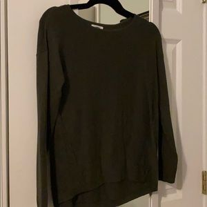 Old Navy Red and Green Crew Neck Sweater